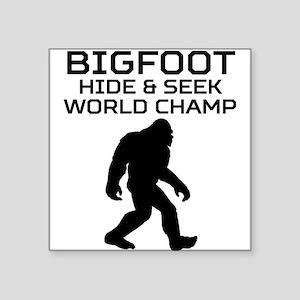 Bigfoot Hide And Seek World Champ Sticker