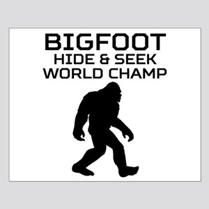 Bigfoot Hide And Seek World Champ Posters