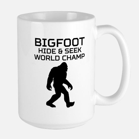 Bigfoot Hide And Seek World Champ Mugs