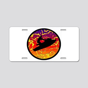 PWC Aluminum License Plate