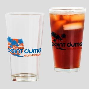 Point Dume, Malibu, California Drinking Glass