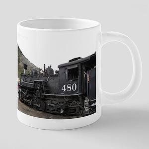 Steam train locomotive, Colorado 10 Mugs
