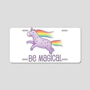 Be Magical Aluminum License Plate