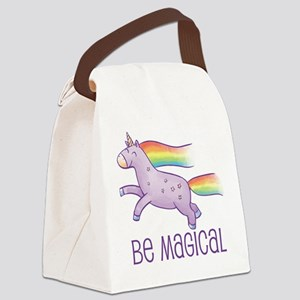 Be Magical Canvas Lunch Bag