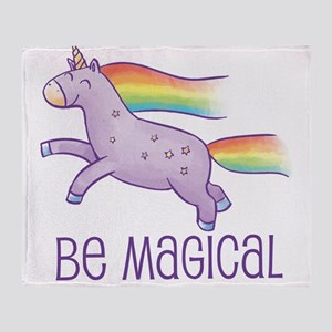Be Magical Throw Blanket