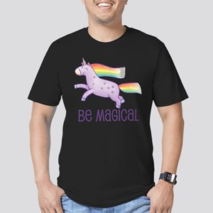 Be Magical Men's Fitted T-Shirt (dark)