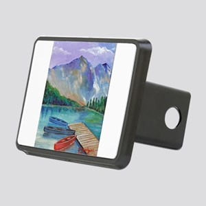 Lake Boat Hitch Cover