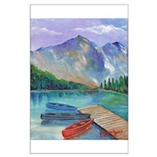 Lake Boat Posters