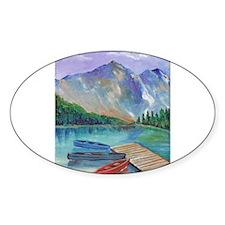 Lake Boat Sticker