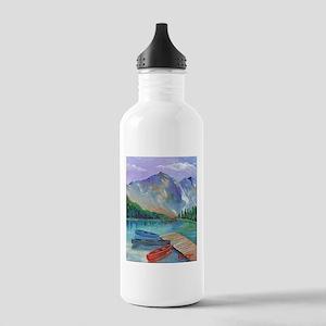 Lake Boat Water Bottle
