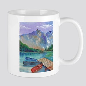 Lake Boat Mugs