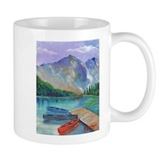 Lake Boat Mugs