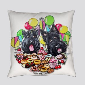Scottie Birthday Everyday Pillow