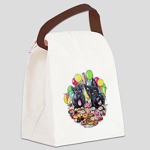 Scottie Birthday Canvas Lunch Bag
