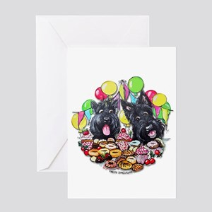 Scottish birthday greeting cards cafepress scottie birthday greeting cards m4hsunfo