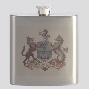 Belfast N Ireland Coat of Arms Flask