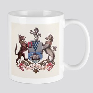 Belfast N Ireland Coat of Arms Mugs