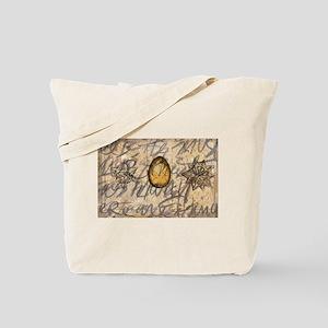 brown texture stars Tote Bag