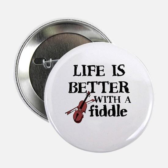 "Cute Fiddle 2.25"" Button"
