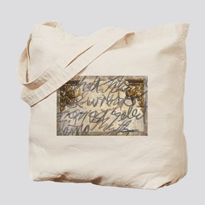 writing abstract Tote Bag