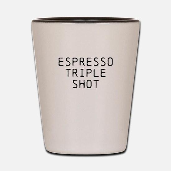 ESPRESSO TRIPLE SHOT Shot Glass