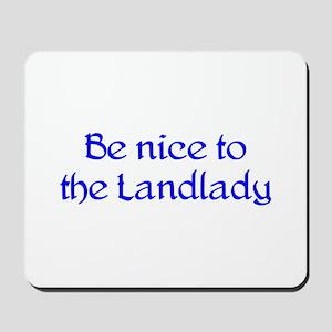 Landlady Mousepad