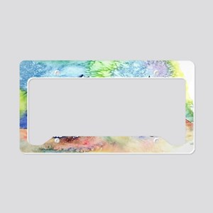 Water Ride License Plate Holder