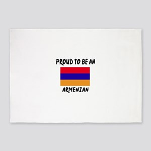 Proud To Be Armenian 5'x7'Area Rug