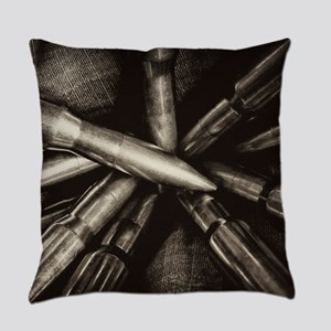 Rifle Ammo Everyday Pillow