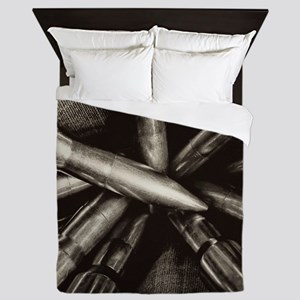 Rifle Ammo Queen Duvet