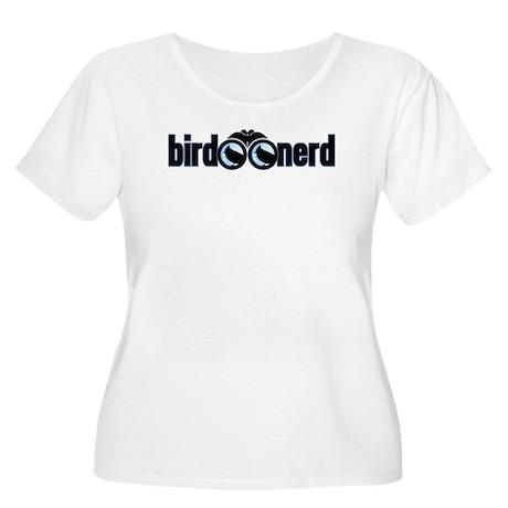 Bird Nerd Women's Plus Size Scoop Neck T-Shirt