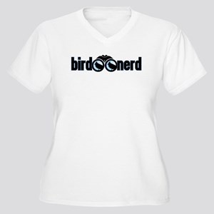 Bird Nerd Women's Plus Size V-Neck T-Shirt
