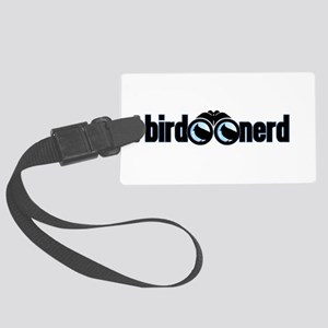 Bird Nerd Large Luggage Tag