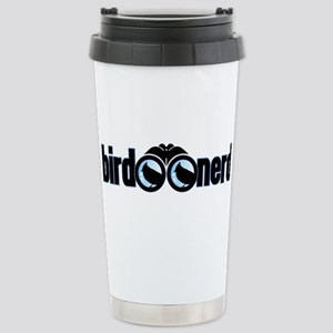 Bird Nerd Stainless Steel Travel Mug