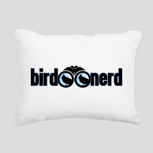 Bird Nerd Rectangular Canvas Pillow