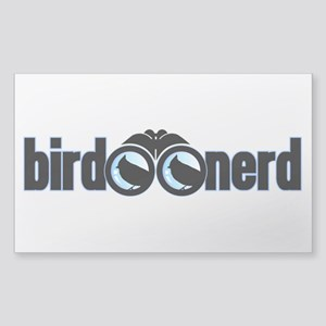 Bird Nerd Sticker (Rectangle)