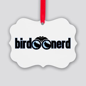 Bird Nerd Picture Ornament