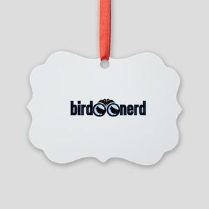 Bird Nerd Picture Ornament
