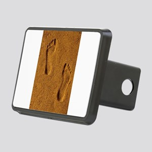 sand footprints, Rectangular Hitch Cover