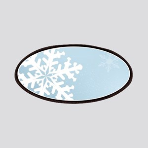 Falling Snowflake Patch