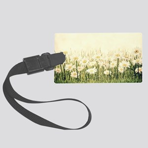 Rustic Daisies Luggage Tag