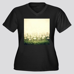 Rustic Daisies Plus Size T-Shirt