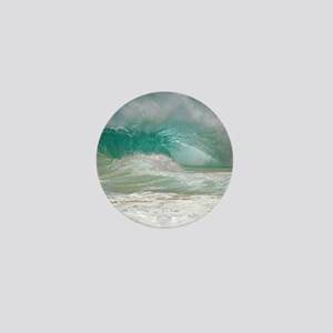 Sandy Beach Shorebreak Mini Button