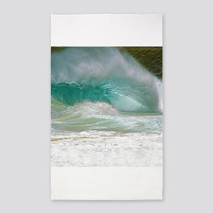 Sandy Beach Shorebreak Area Rug
