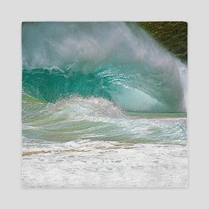 Sandy Beach Shorebreak Queen Duvet