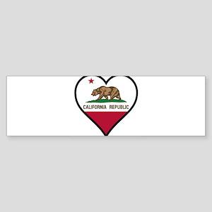 Love California Bumper Sticker