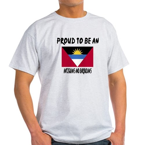 Proud To Be Antigua T-Shirt