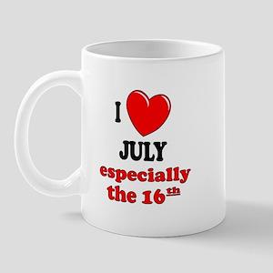 July 16th Mug