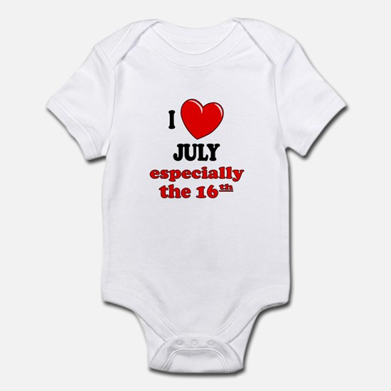 July 16th Infant Bodysuit