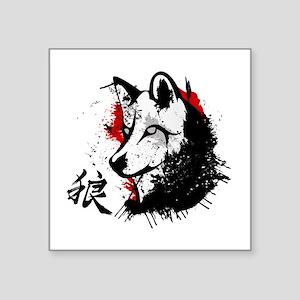Wolf Okami Sticker